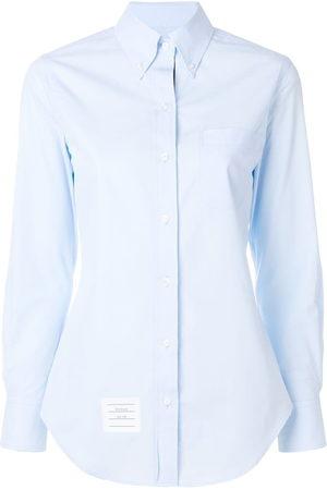 Thom Browne Women Shirts - Button-down slim-fit shirt - LIGHT