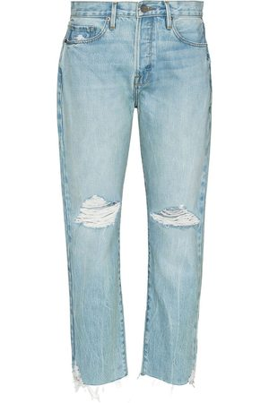 Frame Women Jeans - Le Original cropped ripped jeans