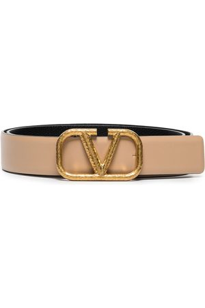 VALENTINO GARAVANI Women Belts - VLogo Signature belt - Neutrals