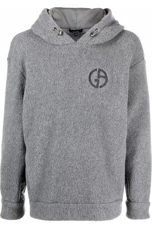 Armani Men Long sleeves - Long sleeve hoodie - Grey