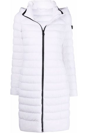 Peutery Quilted-finish padded coat