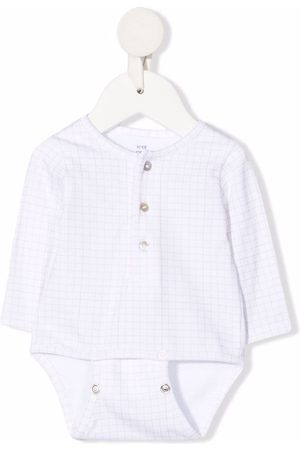 KNOT Bodysuits & All-In-Ones - Grid pattern babygrow