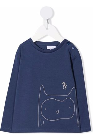 KNOT Long Sleeve - Confused Owl long-sleeved T-shirt