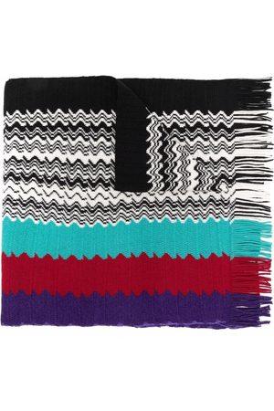 M Missoni Multicolour striped scarf