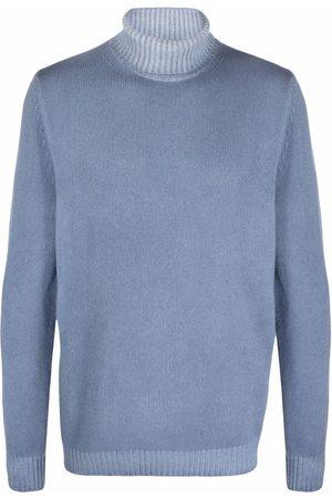Malo Men Turtlenecks - Roll-neck wool jumper