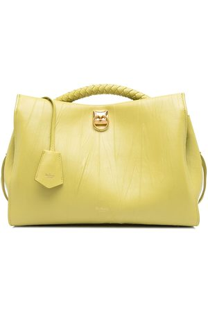 MULBERRY Iris crinkled leather satchel bag