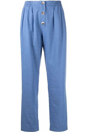 FORTE FORTE High-waist straight trousers