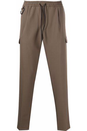BRIGLIA Men Skinny Pants - Elasticated-waist trousers