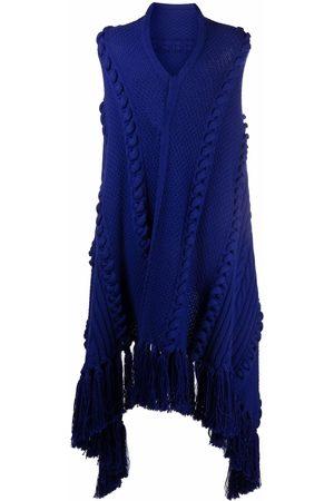 Les Hommes Men Scarves - Oversized virgin wool scarf