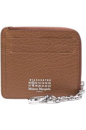 Maison Margiela Women Purses - Four-stitch zipped cardholder