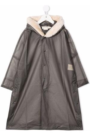 Le pandorine Girls Rainwear - Hooded rain coat - Grey