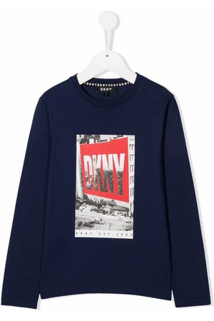 DKNY Photo-print long-sleeve T-shirt
