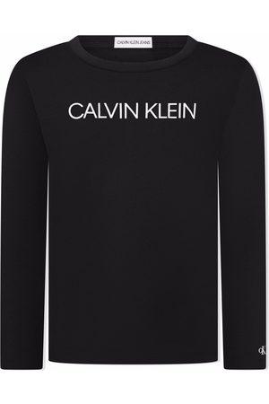 Calvin Klein Logo-print long-sleeve top
