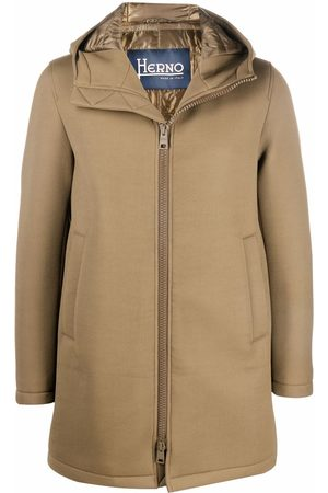 HERNO Zip-up hooded coat