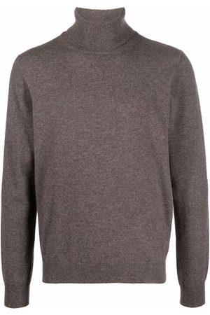 Malo Men Turtlenecks - Roll-neck cashmere jumper