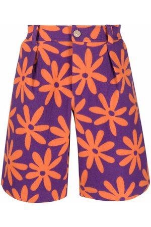 Jacquemus Floral-print shorts