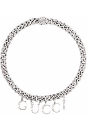 Gucci Men Necklaces - Script chain necklace