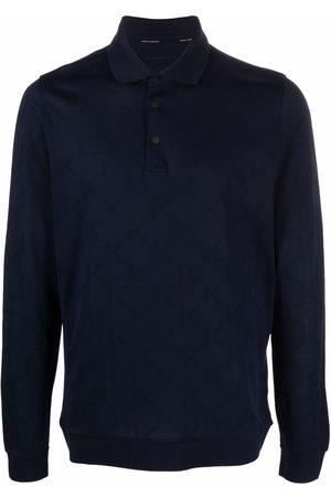 Karl Lagerfeld Rear logo-print polo shirt
