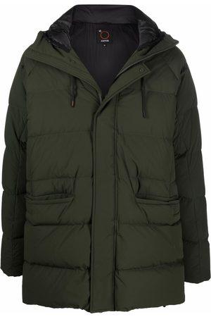 Aspesi Men Coats - Hooded down coat