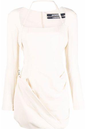 Jacquemus Women Party Dresses - La robe Esca mini dress