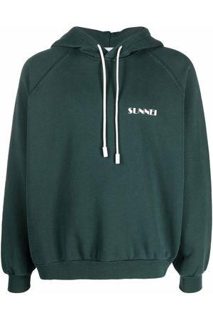 SUNNEI Logo-print cotton hoodie