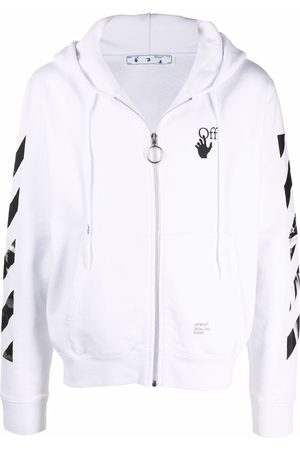 OFF-WHITE Arrows zipped hoodie