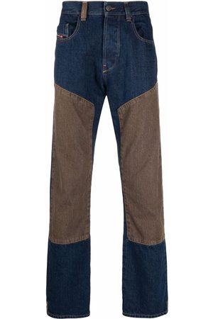 Diesel Panelled cotton jeans