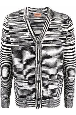 Missoni Intarsia-knit button-up cardigan