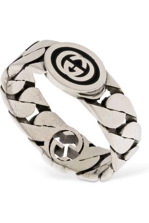 Gucci Women Rings - Wide Interlocking G Ring