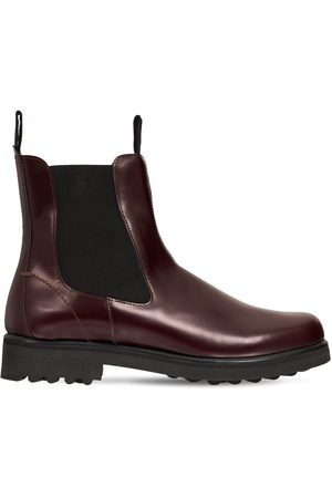 EMME PARSONS 30mm Zion Brushed Leather Chelsea Boots