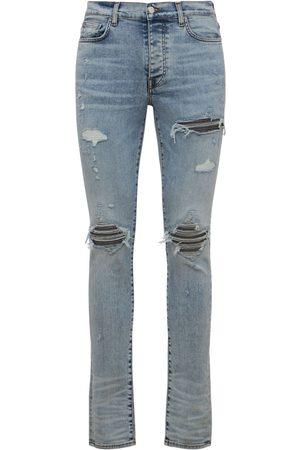AMIRI 15cm Tapered Mx1 Iridescent Denim Jeans