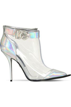 Dolce & Gabbana Women Ankle Boots - 105mm Cardinale Iridescent Ankle Boots