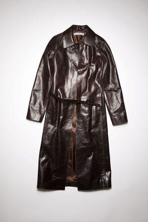 Acne Studios FN-WN-LEAT000153 Calf leather coat