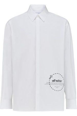 OFF-WHITE Men Shirts - Single Cut long shirt