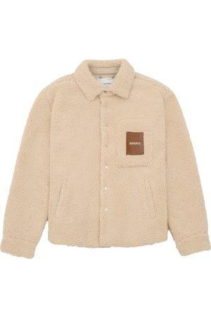 Axel Arigato Men Fleece Jackets - Aspen Teddy Overshirt