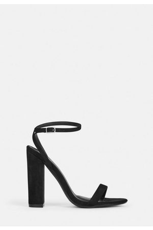 Missguided Women Heeled Sandals - Faux Suede High Heel Sandals