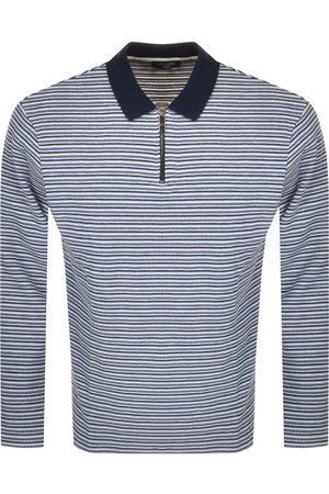 Ted Baker Men Long Sleeve - Beer Long Sleeved Polo T Shirt
