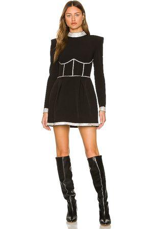 Bronx and Banco Women Party Dresses - Frida Diamond Mini Dress in .