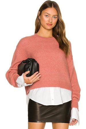 Cinq A Sept Women Sweaters - Carlota Pullover in Mauve.