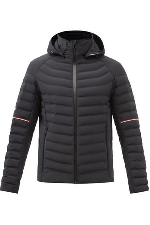 Toni Sailer Men Sports Hoodies - Ruven Hooded Quilted Down Coat - Mens - Black