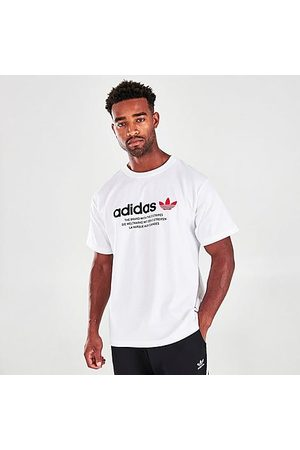 adidas Men T-shirts - Men's Linear Graphic Lab T-Shirt in / Size X-Small
