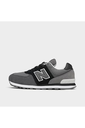 New Balance Boys' Little Kids' 574 Casual Running Shoes Size 1.0 Nylon/Suede