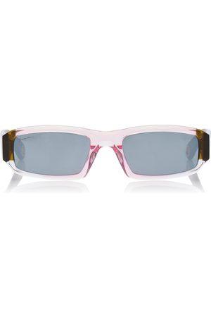 Jacquemus Women's Les Altù Square-Frame Acetate Sunglasses - - Moda Operandi