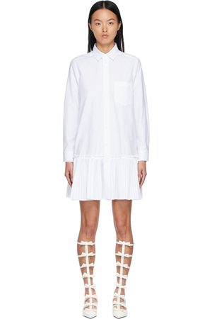 RED Valentino Women Casual Dresses - Cotton Pleated Shirt Dress