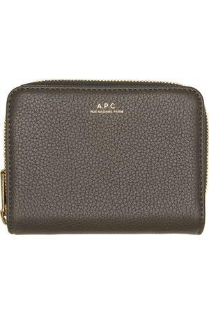A.P.C. Grey Emmanuelle Compact Wallet