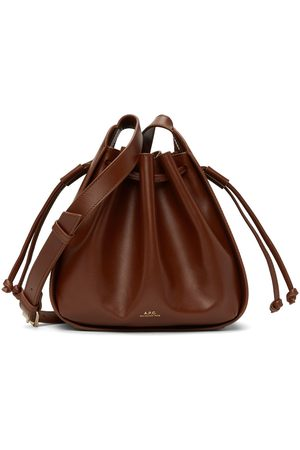 A.P.C. Brown Small Courtney Bag