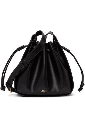 A.P.C. Black Small Courtney Bag