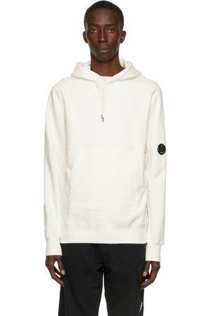 C.P. Company Off-White Diagonal Raised Fleece Hoodie