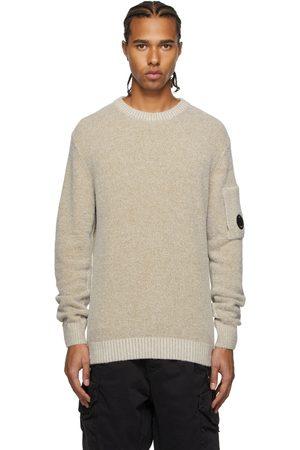 C.P. Company Beige Knit Fleece Sweater