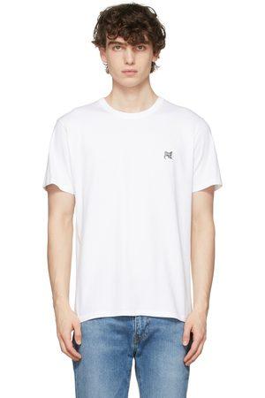 Maison Kitsuné White Fox Head Patch T-Shirt